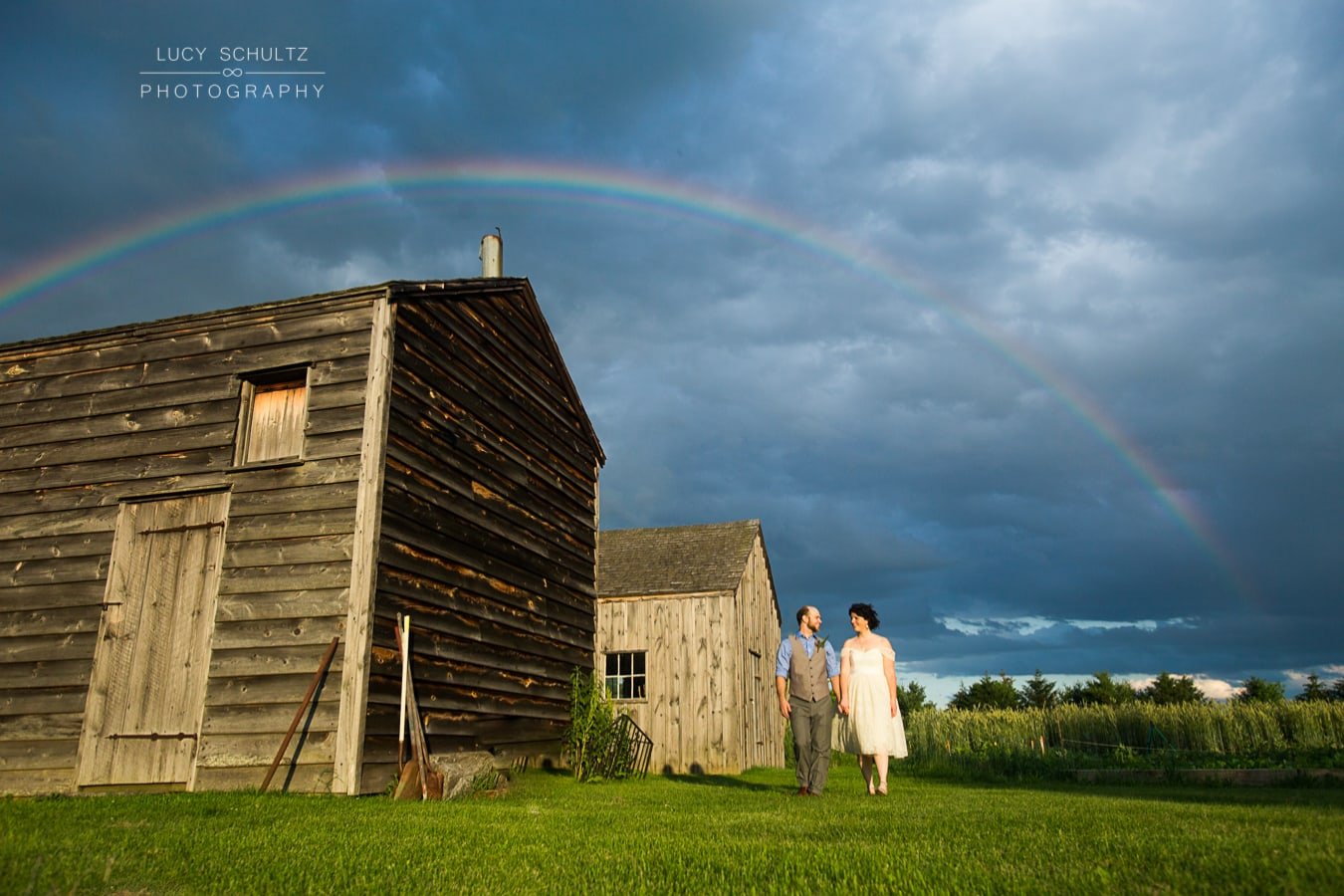 Barn Destination Wedding Photos