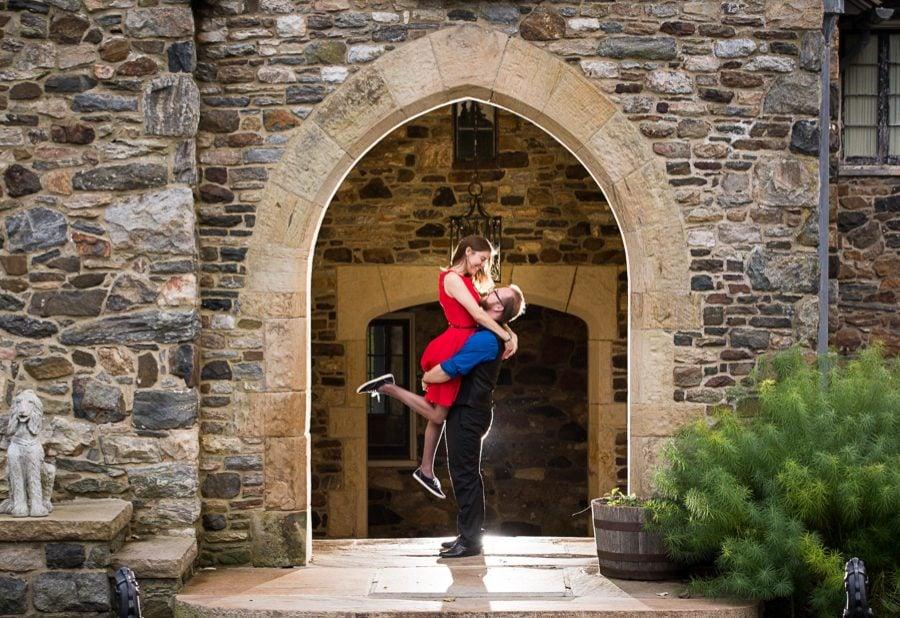 Castle Engagement Photos – Destination Engagement Photographer