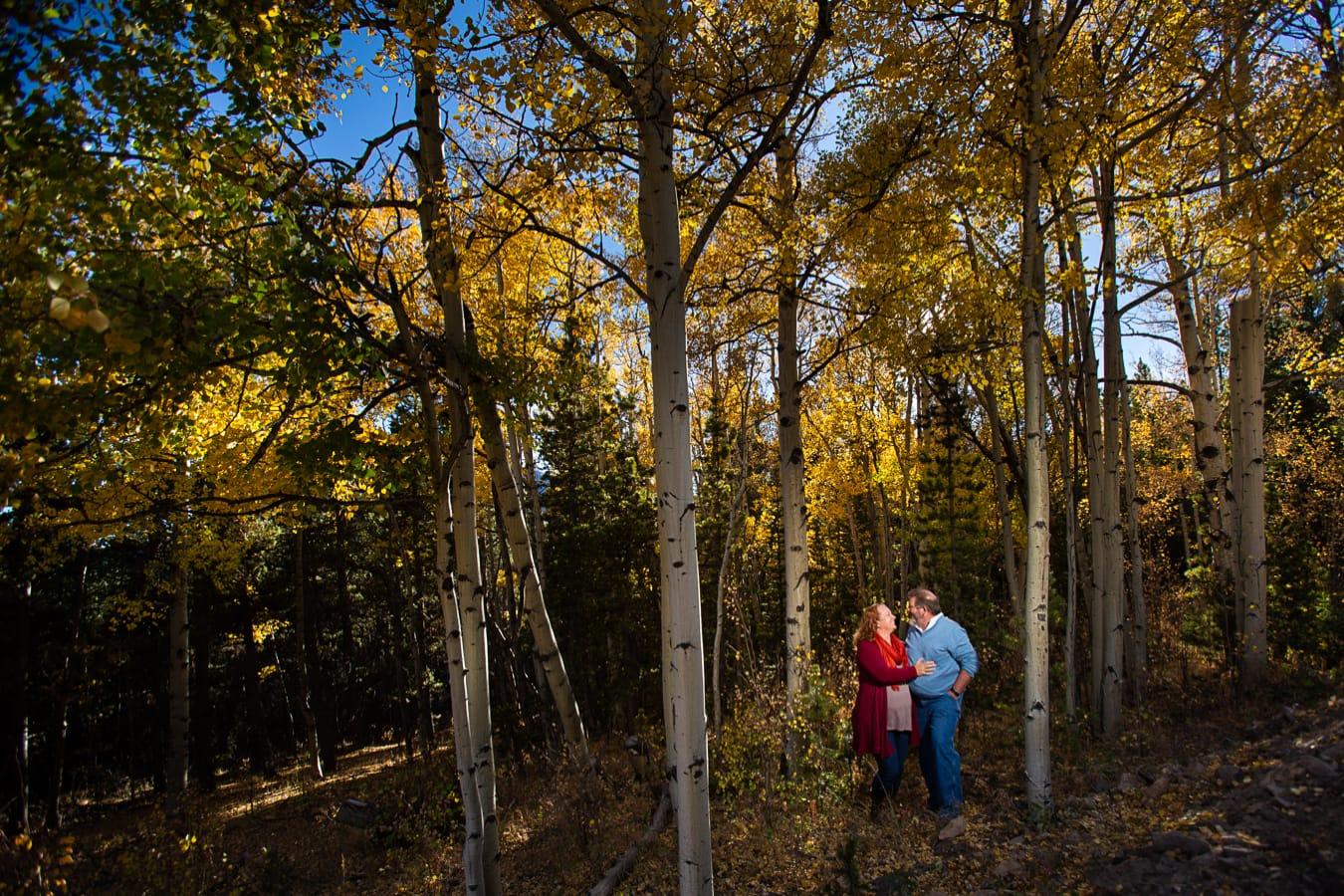 Boreas Pass Fall Engagement Photos – Colorado Engagement Photographer
