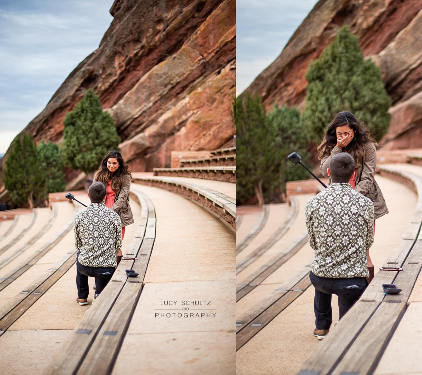 Red Rocks Proposal Photos – Denver Proposal Photographer