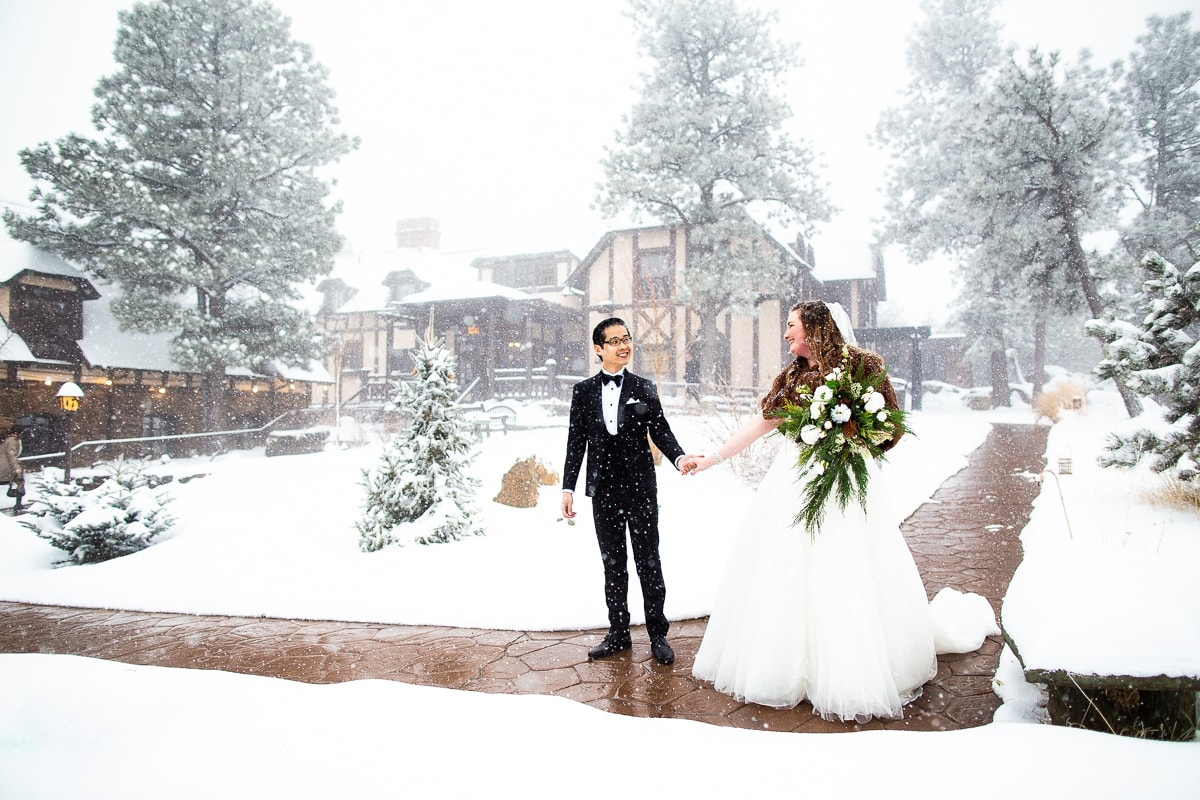 Winter Boettcher Mansion Wedding Photos