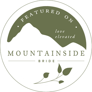 My images have been featured on mountainside bride's blog.