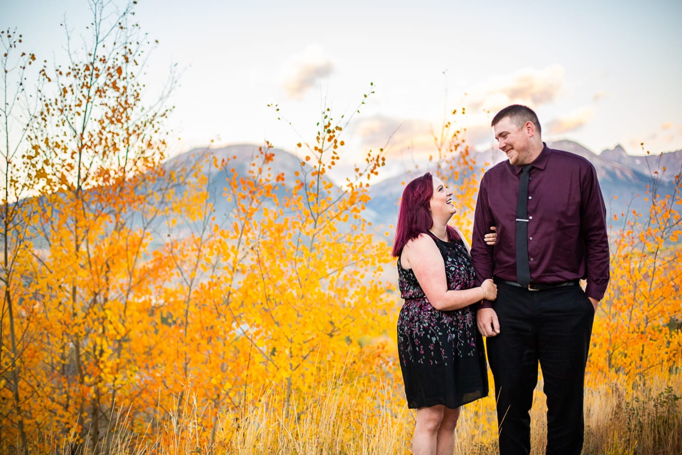 Summit County Engagement Photos – Colorado Engagement Photographer