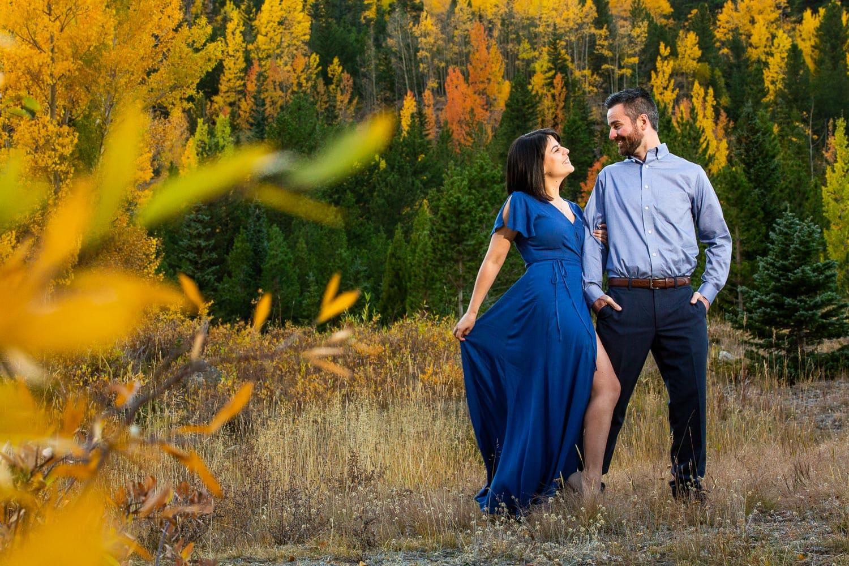 Guanella Pass Engagement Photos – Mountain Engagement Photographer