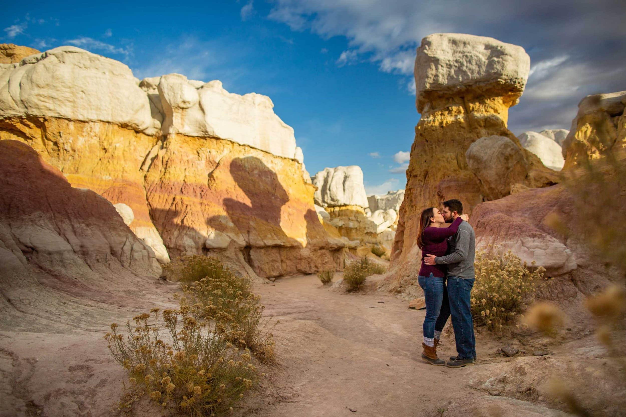 Paint Mines Engagement Photos – Colorado Engagement Photographer