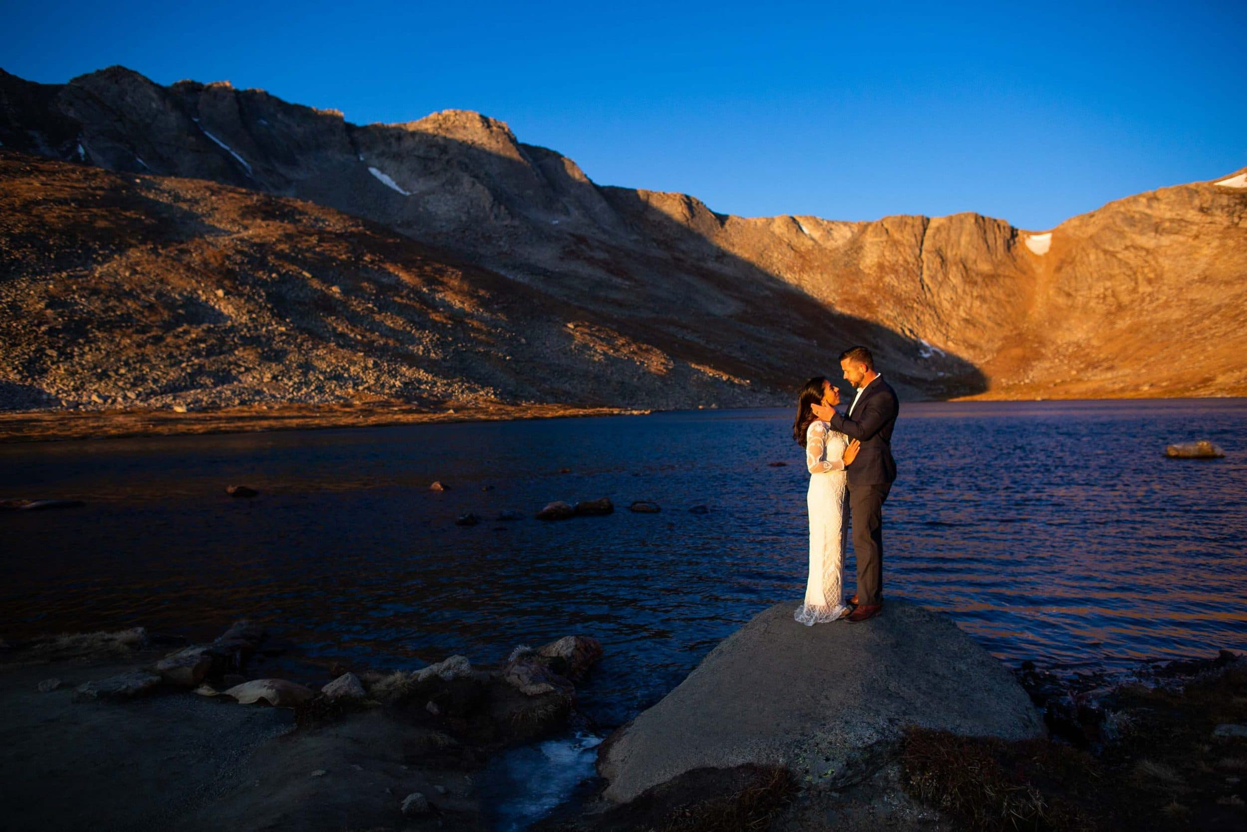 Summit Lake Elopement Photos – Colorado Elopement Photographer