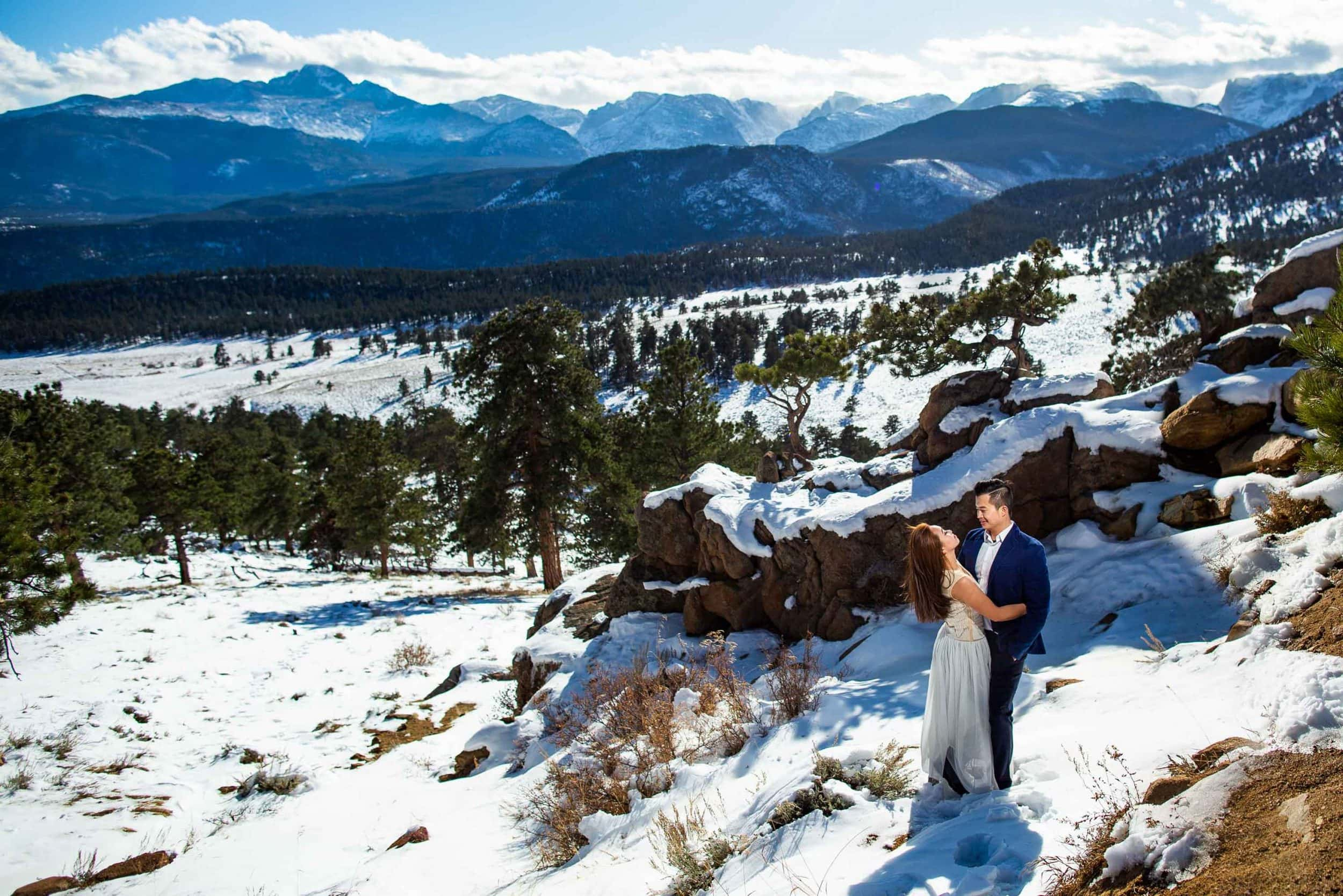 Rocky Mountain National Park Engagement Photos – Estes Park Engagement Photographer