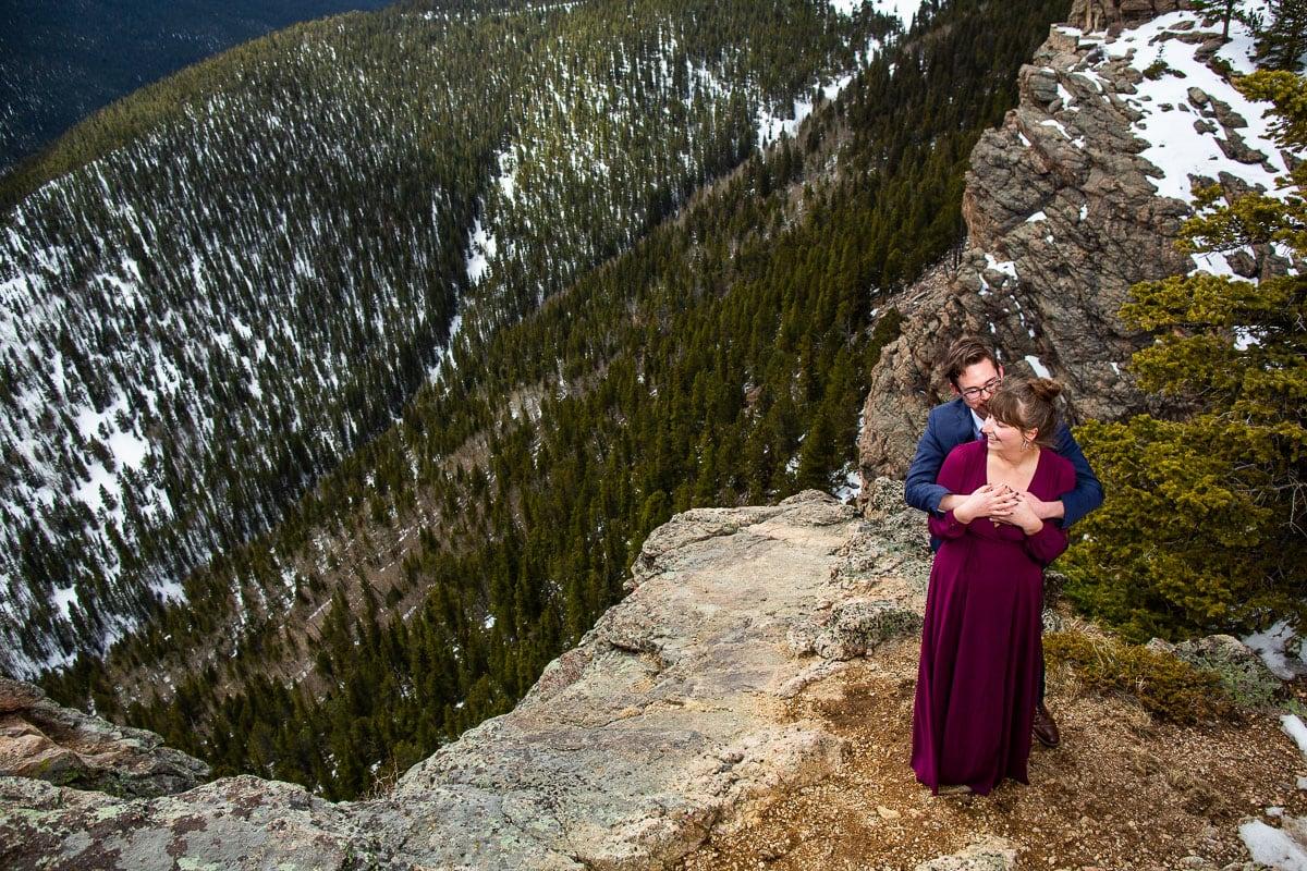 Evergreen Engagement Photos – Colorado Mountain Engagement Photographer
