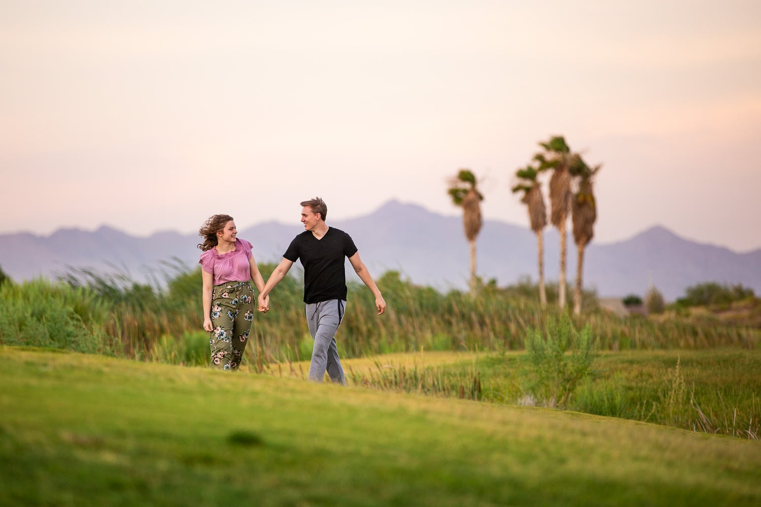 Destination Couples Photographer – Desert Oasis Couples Photos