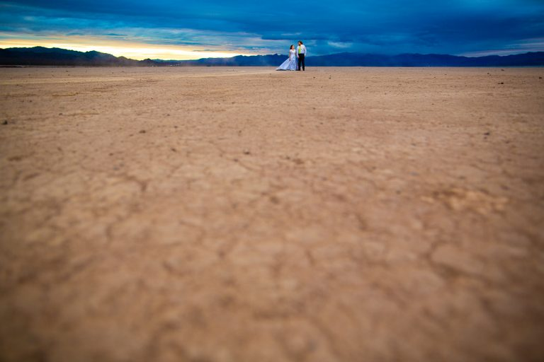 Dry Lake Bed Vow Renewal – Destination Elopement Photographer