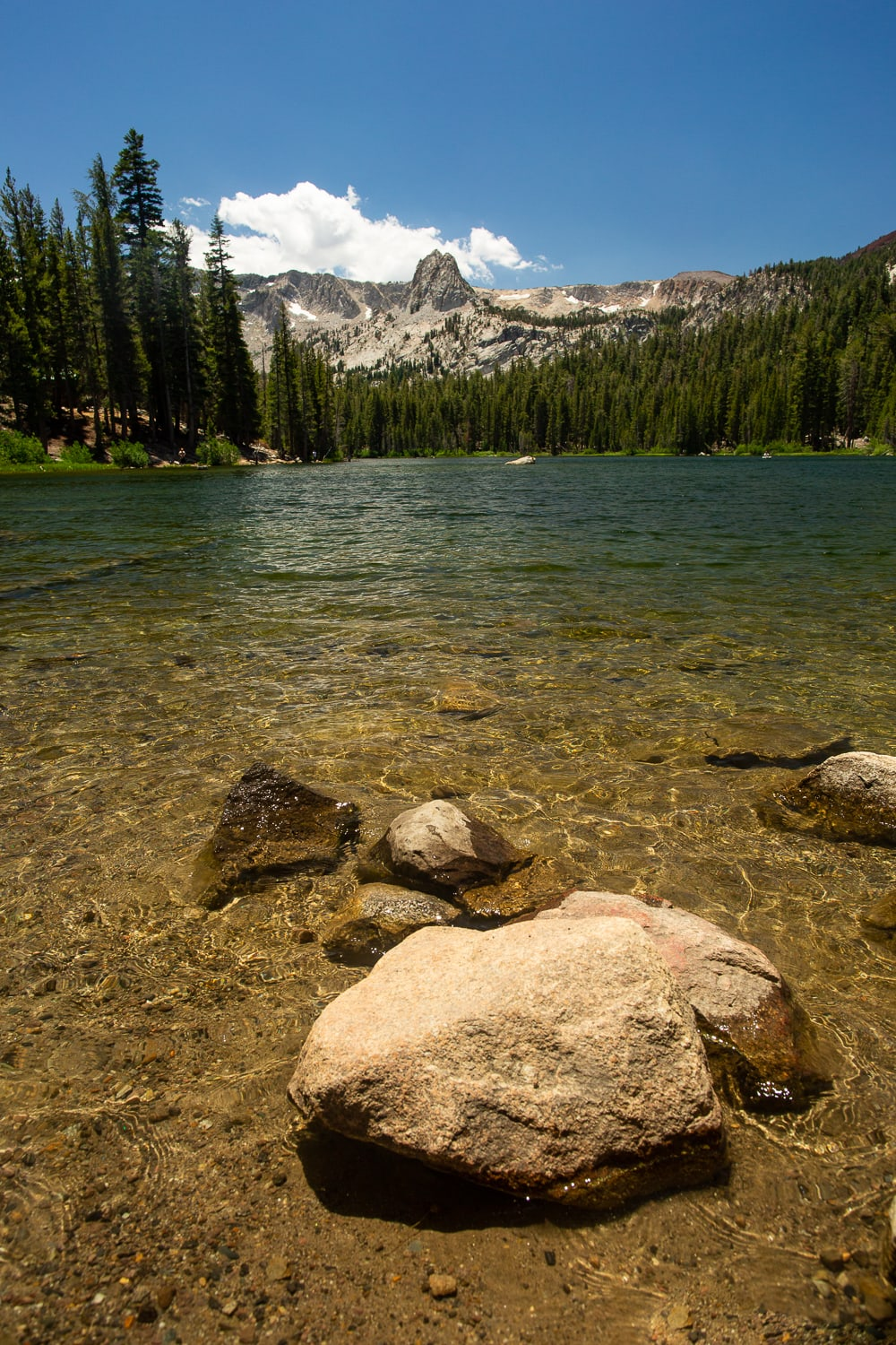 Mamie lake landscape photograph