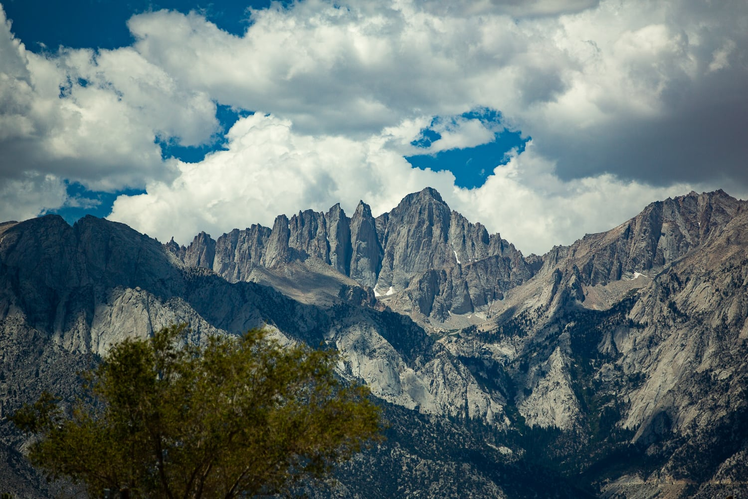 A colorful landscape photo of Mt Whitney
