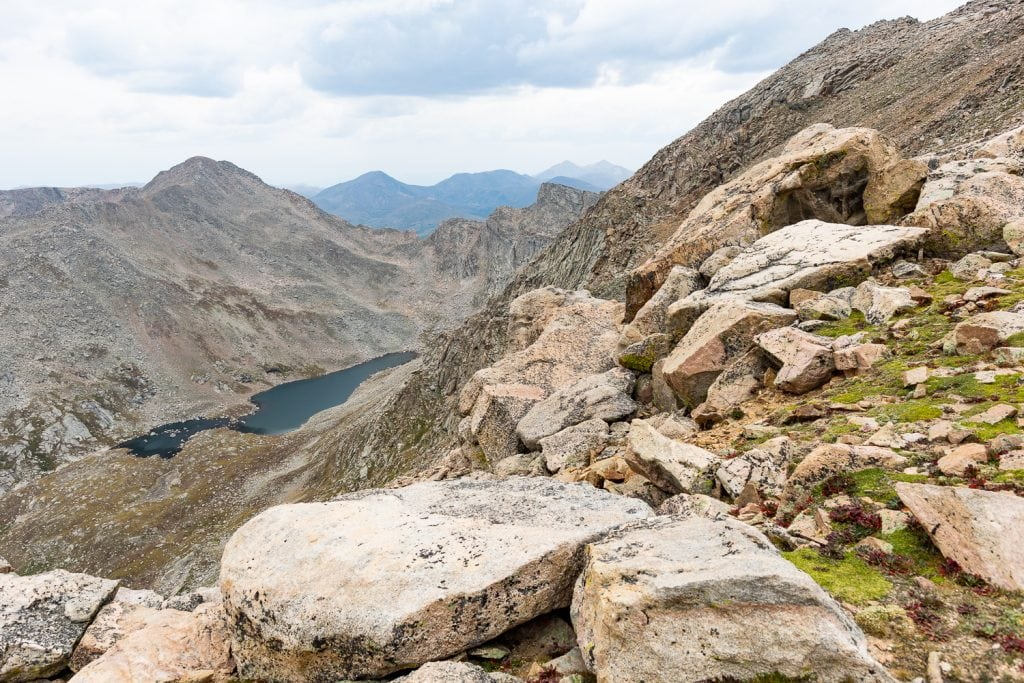 An elopement location on Mt Evans in Colorado.