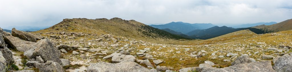 The tundra of Mt. Evans in Colorado.