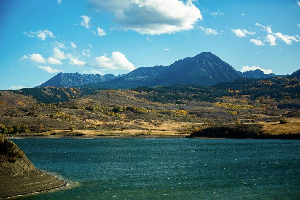 Green mountain reservoir elopement location in Heeney Colorado