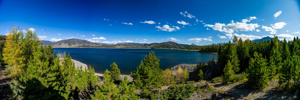 Lake Dillon, Colorado in September
