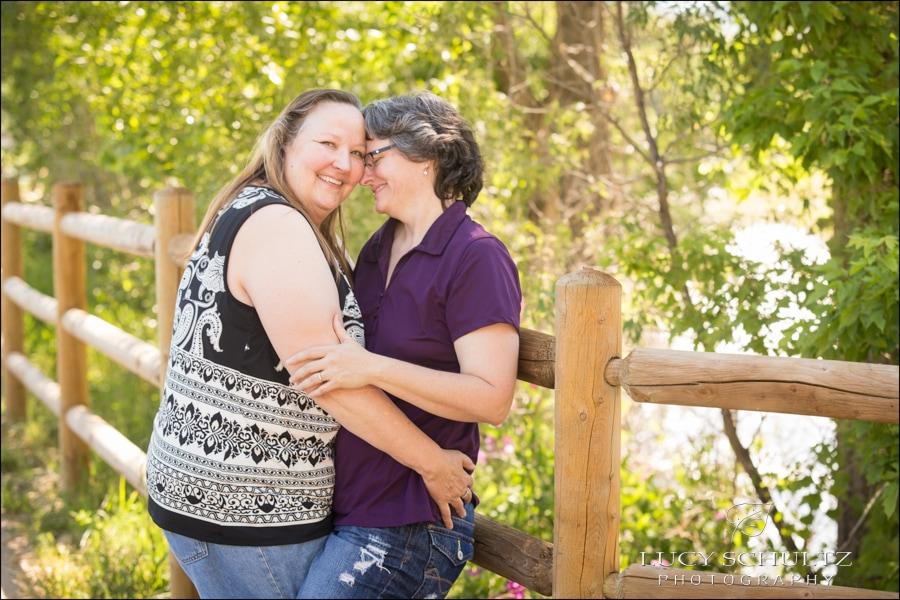 Denver LGBTQ Engagement Photos at Clear Creek