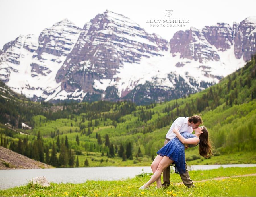 Maroon Bells Photographer – Summer Engagement Photos