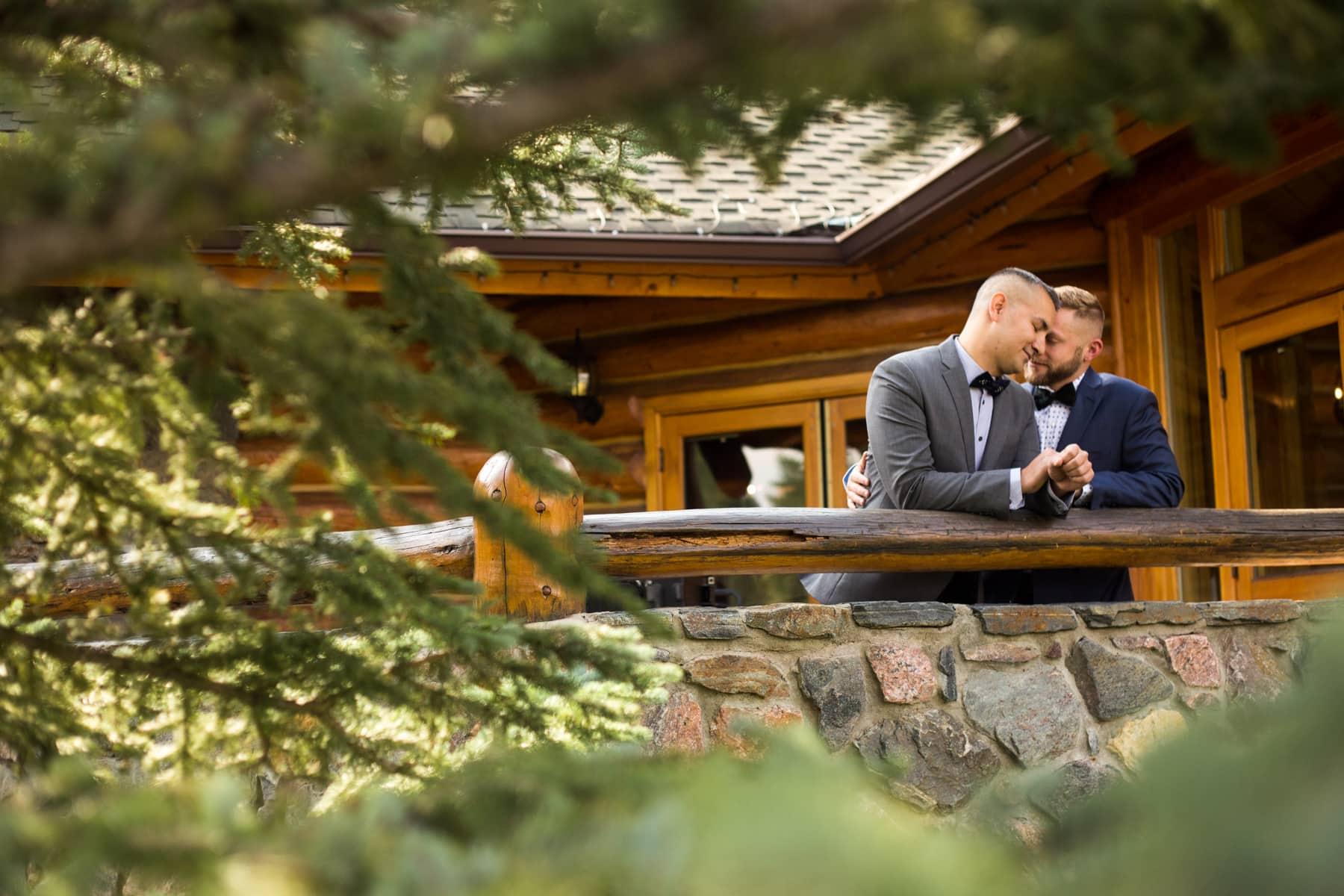 Gay Evergreen Lake House Wedding – Colorado LGBTQ Wedding Photos