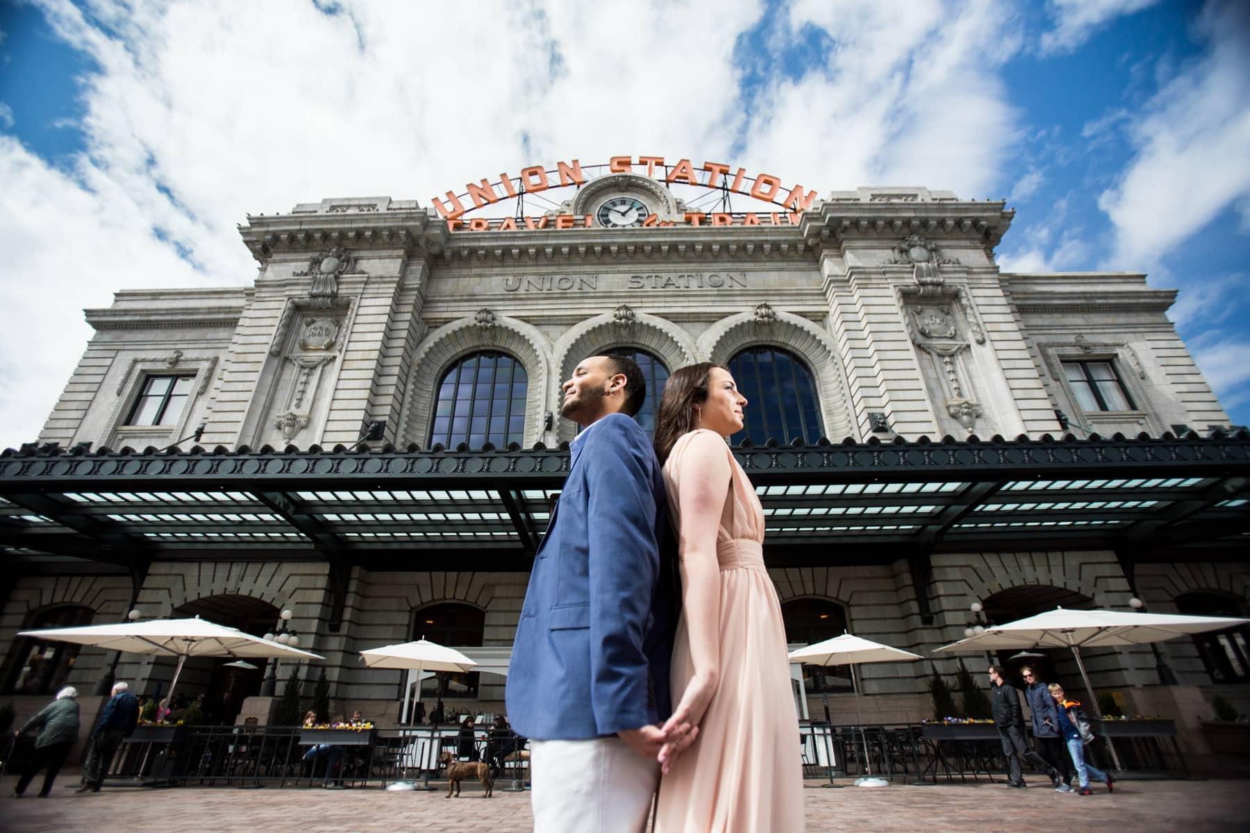 Union Station Engagement Photos – Denver Engagement Photographer