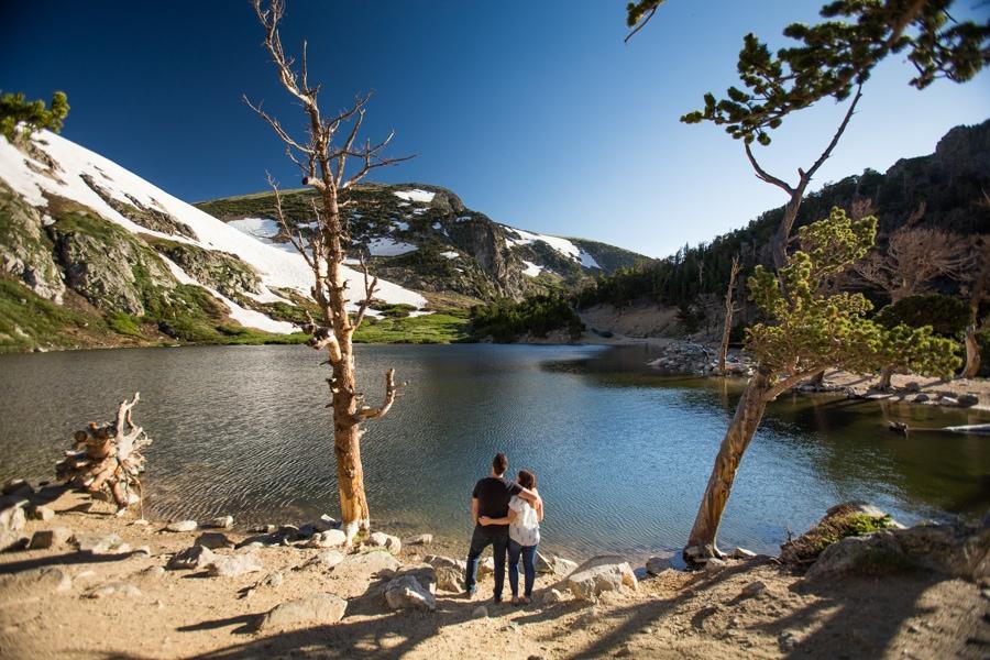 St Marys Glacier Photographer – Summer Engagement