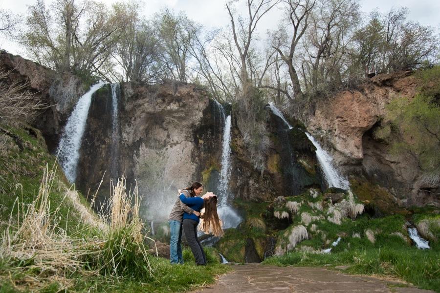 Rifle Falls Engagement Photos – Colorado Engagement Photographer