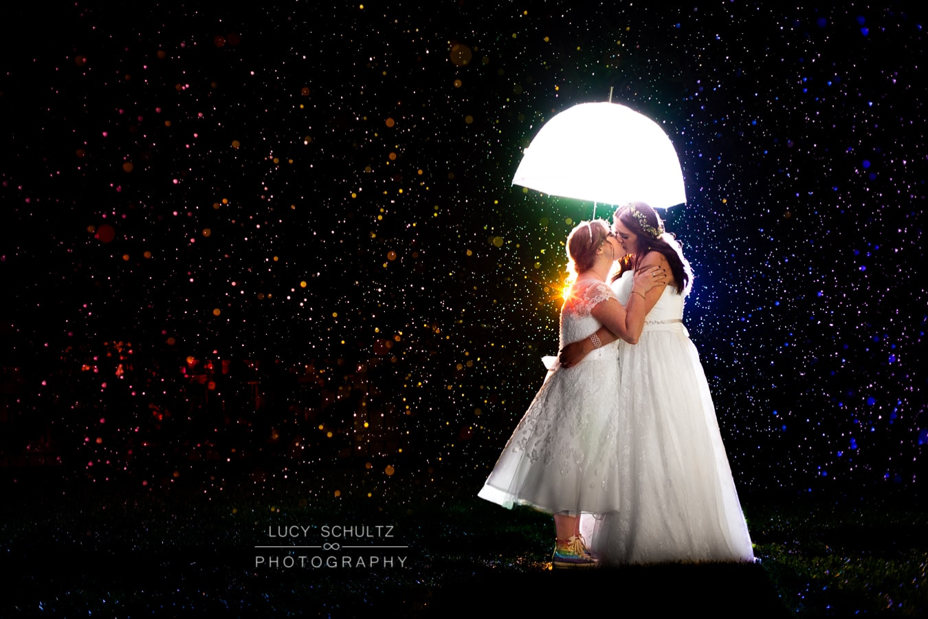 Colorful LGBTQ Wedding Photographer