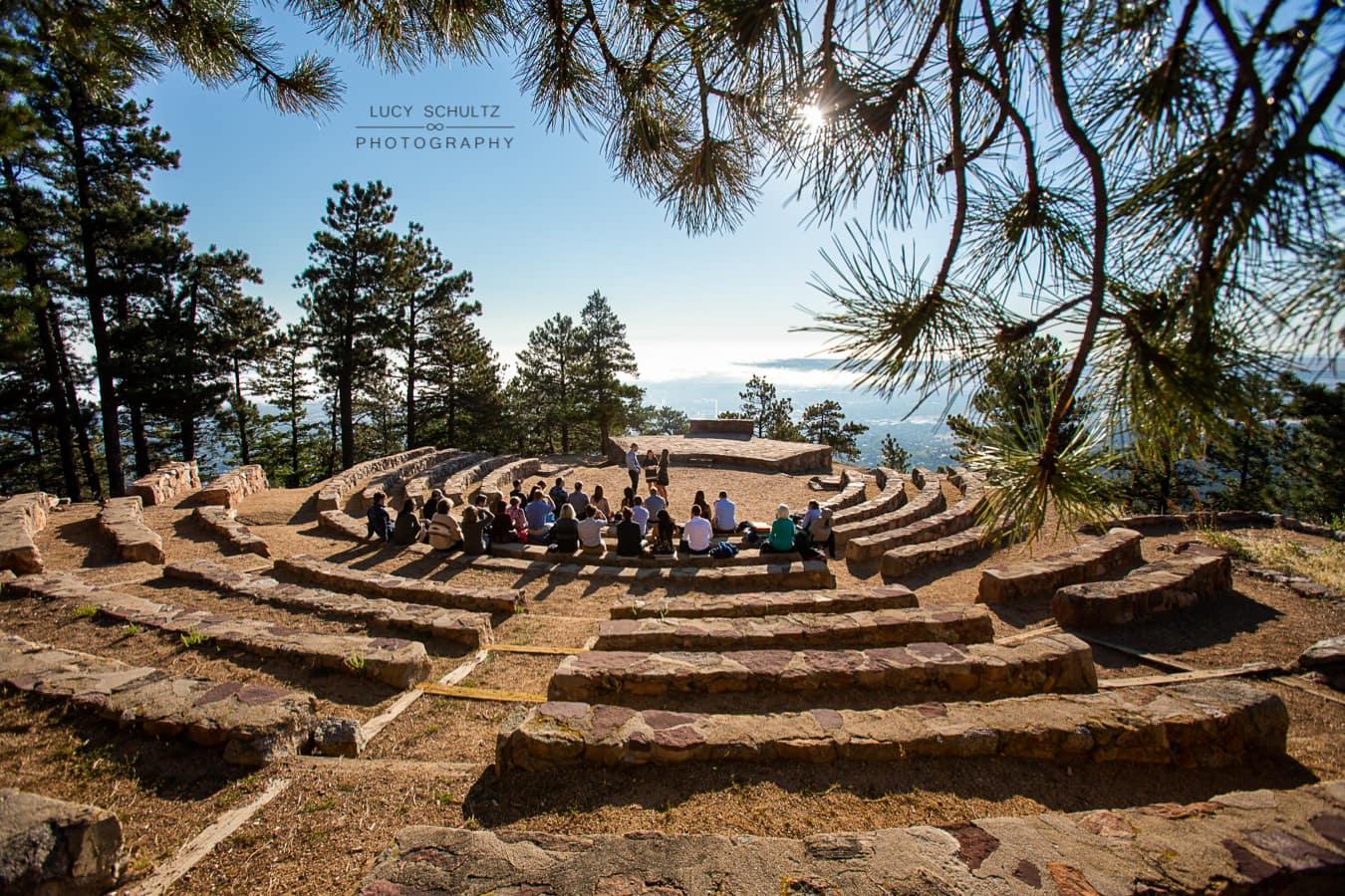 Sunrise Amphitheater Elopement – Boulder, CO