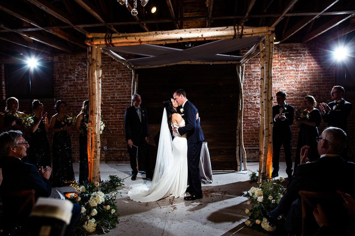 New Years Eve Wedding at the St Vrain