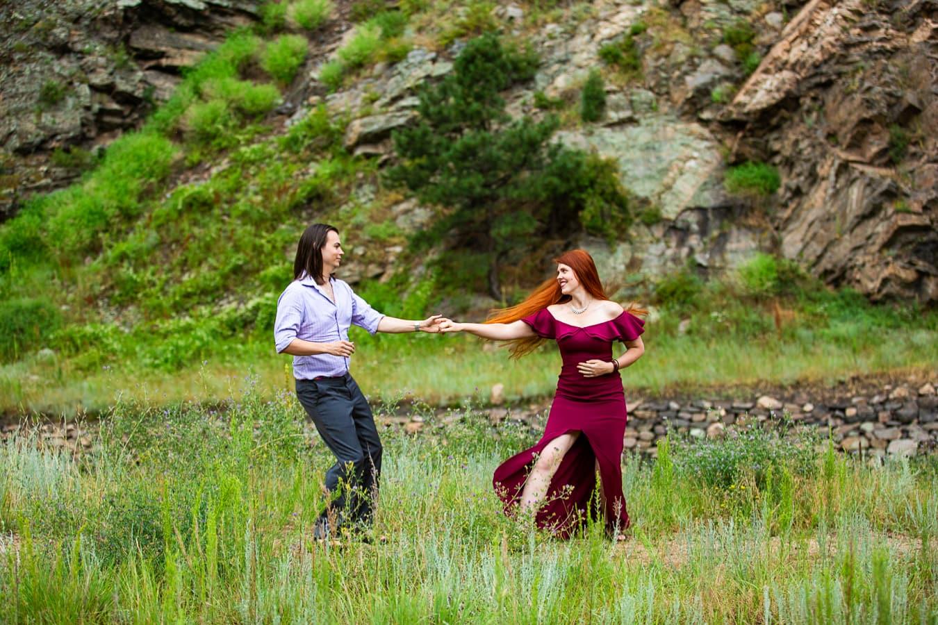 Denver Queer Engagement Photos – Golden, CO Engagement Photographer
