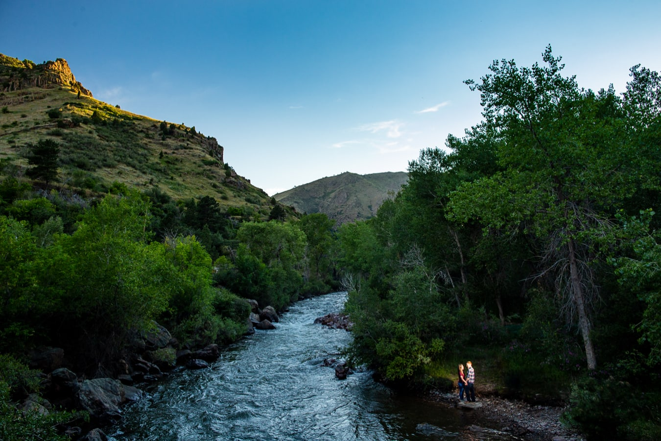 Clear Creek Engagement Photos – Golden CO Engagement Photographer