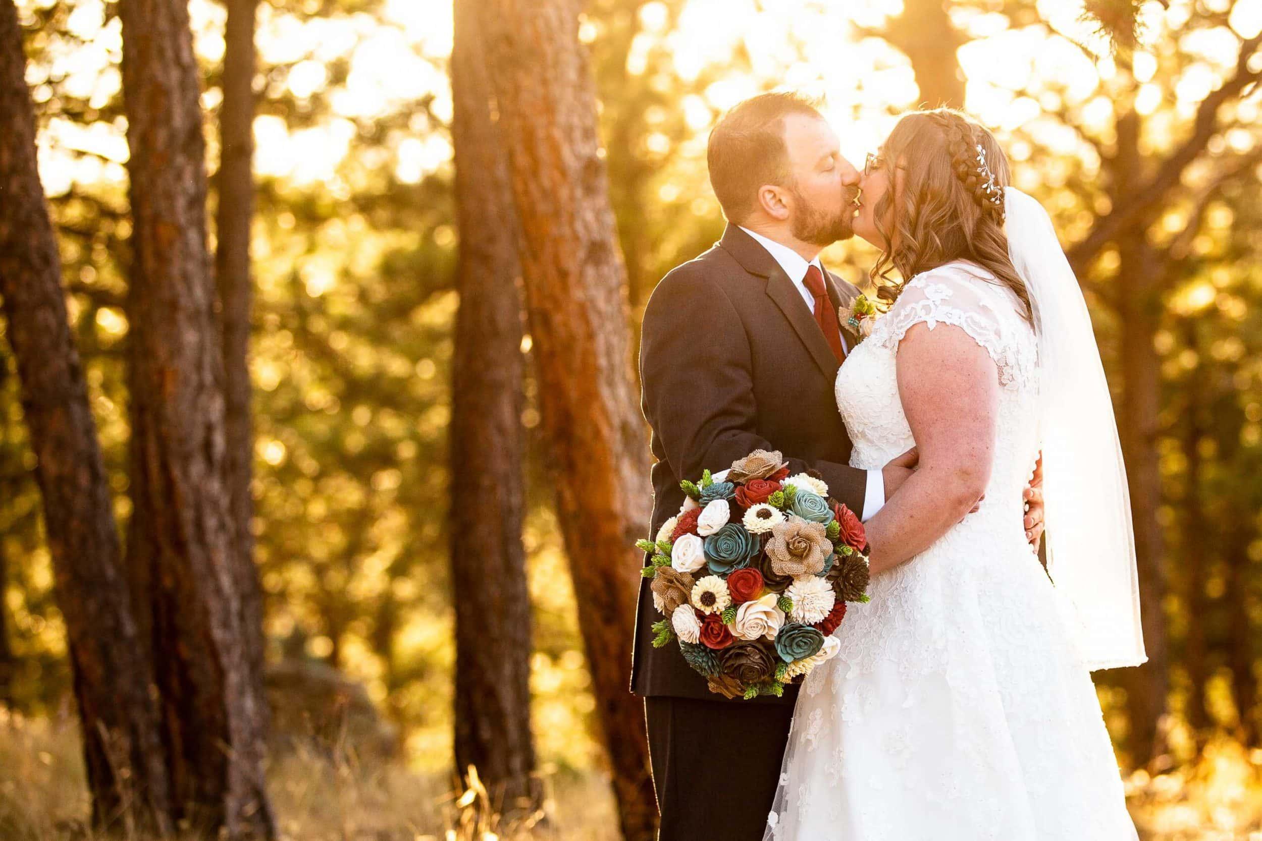 Fall Boettcher Mansion Wedding Photos