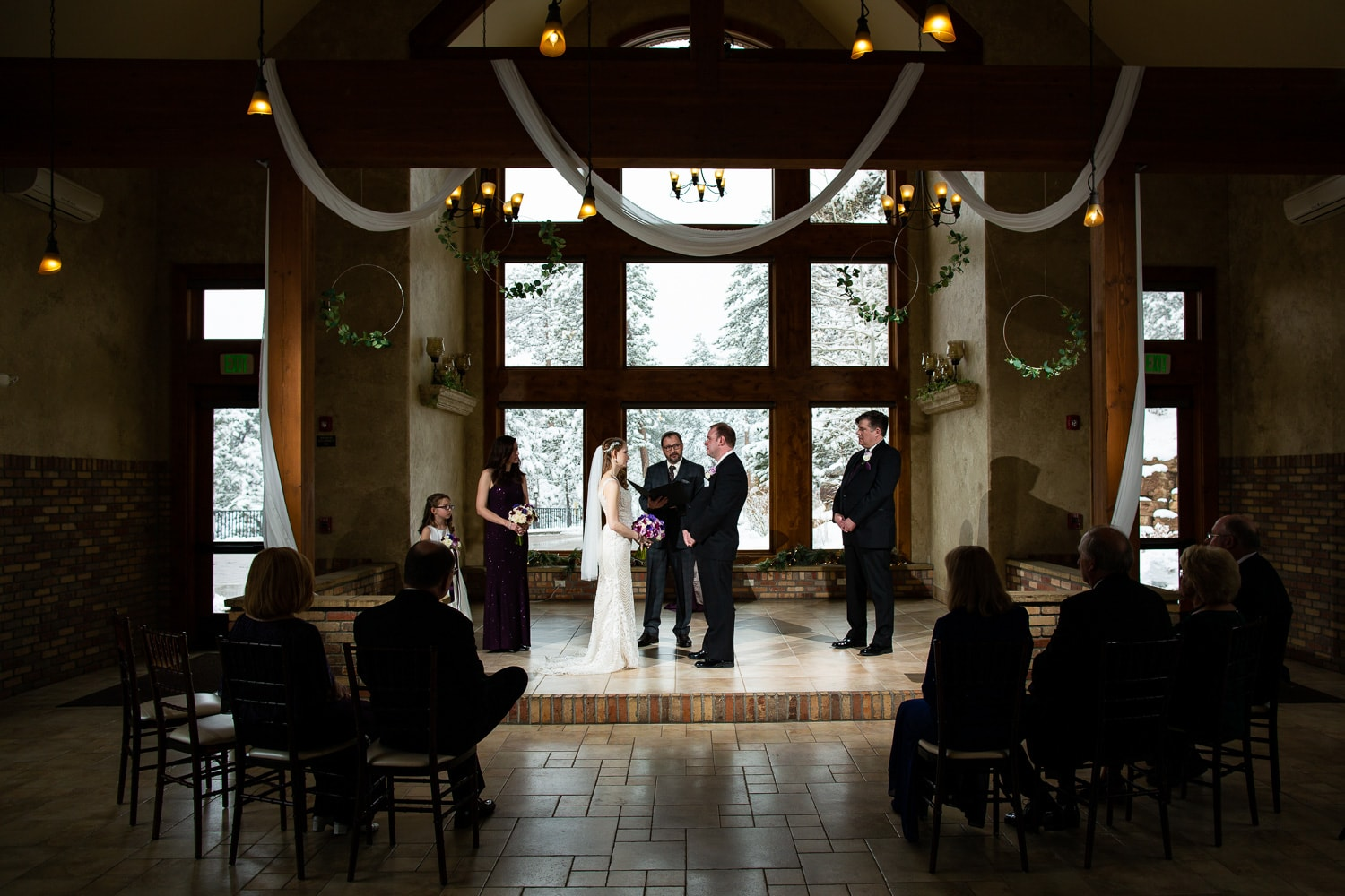 Winter Della Terra Elopement – Estes Park Elopement Photographer