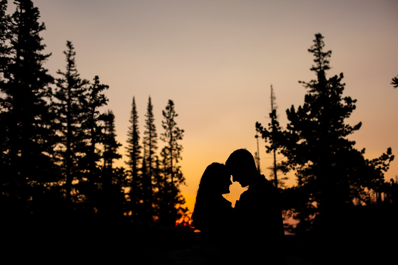 Sunrise Dream Lake Proposal Photos – RMNP Proposal Photographer