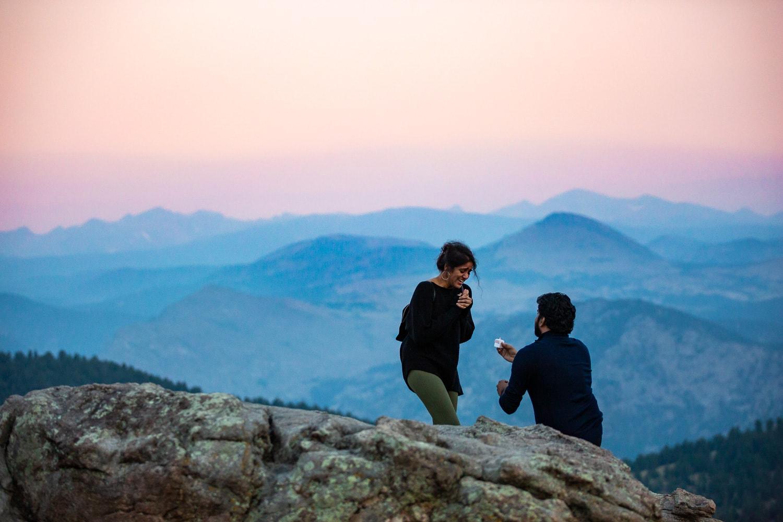 Lost Gulch Proposal Photos – Colorado Mountain Proposal Photographer