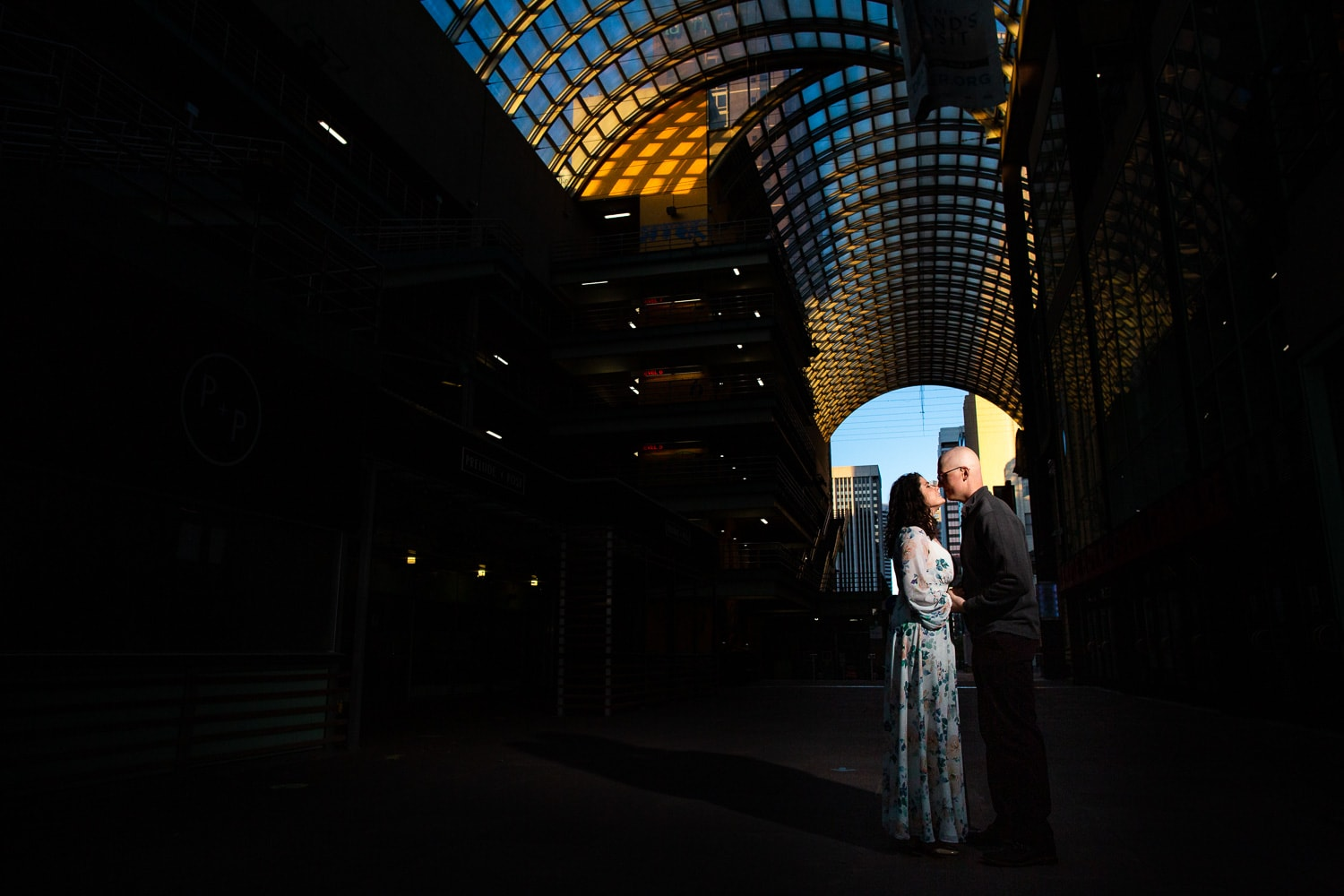 Downtown Denver Engagement Photos – Denver Engagement Photographer