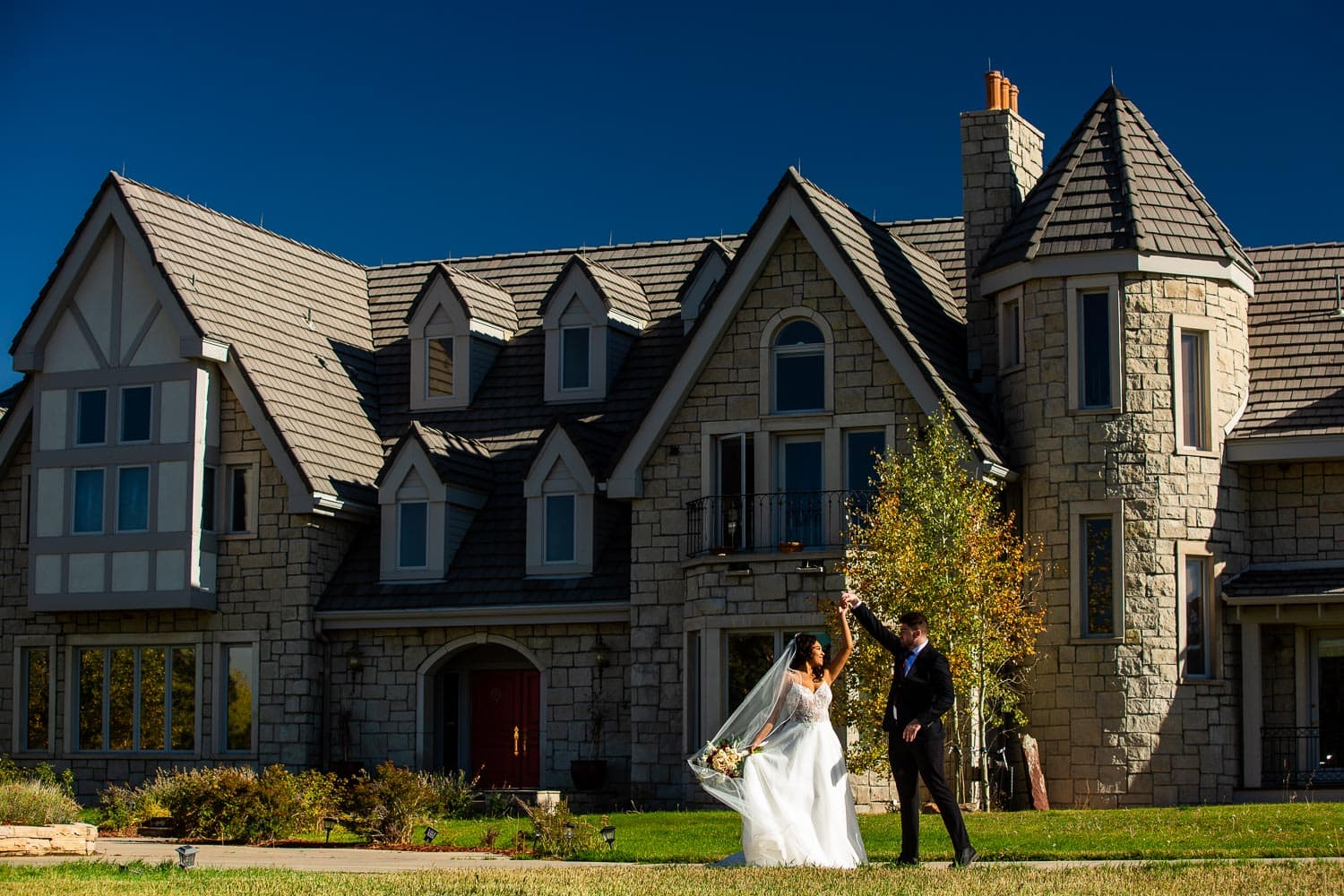 Greystone Castle Wedding Photos – Boulder Wedding Photographer