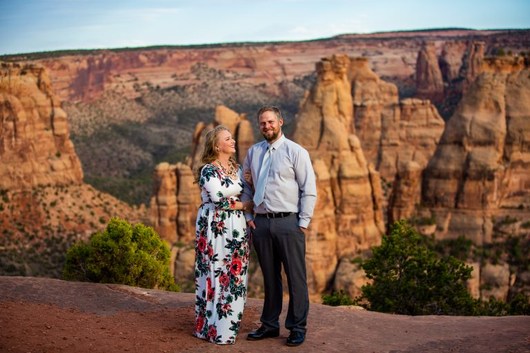 Colorado National Monument Vow Renewal