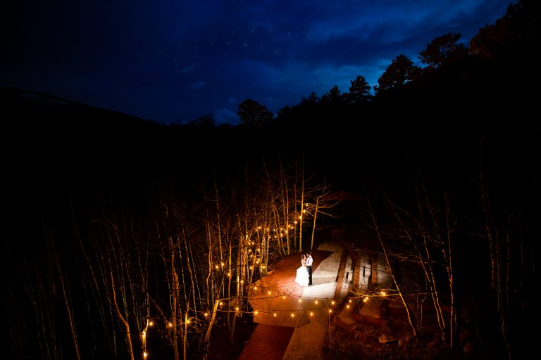 Spring Wild Basin Lodge Wedding